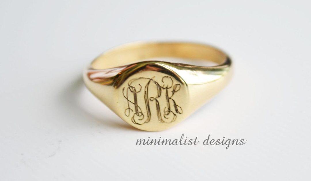 #3 Kişiye Özel Yüzük ile E-ihracat yapan Minimalist Designs