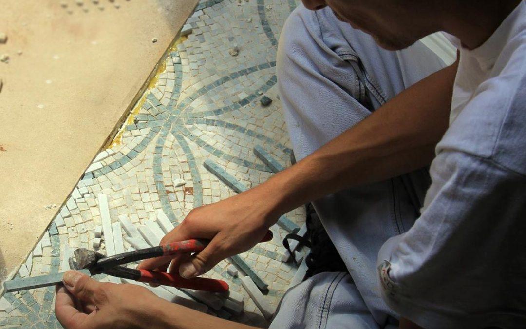#7 Mermer Mozaikleri Sarıp Bütün Dünyaya Gönderen Mosaic Marble